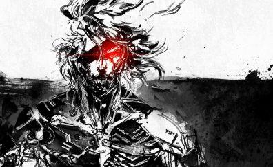 Raiden, Metal Gear Rising: Revengeance, Video game, art