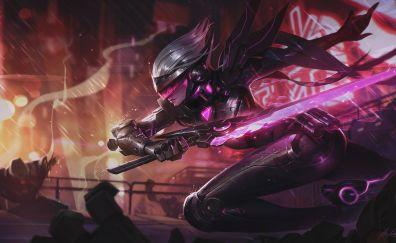 Fiora of league of legends game artwork
