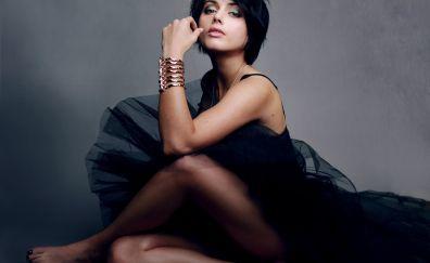 Amrita Acharia, celebrity, black dress