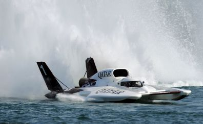 Hydroplane ship