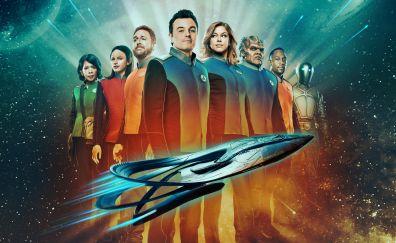 The Orville, tv series, 4k, cast