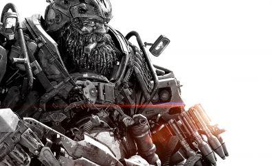 Transformers: The Last Knight, movie, Hound, cyborg