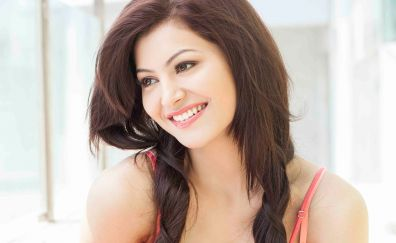 Urvashi Rautela,  bollywood, actress, smile, face