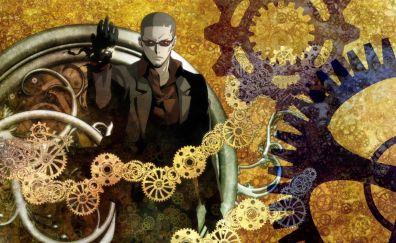 Clockwork planet, anime, anime boy