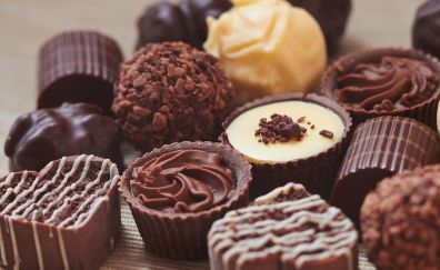 Chocolate, pastry, sweets