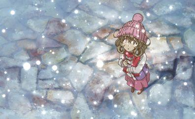 Sasami Tsukuyomi, Sasami-san@Ganbaranai, looking up, anime girl