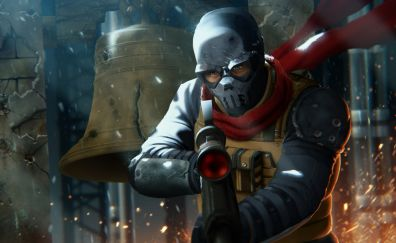 Homefront: The Revolution, game, video game, soldier