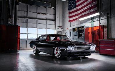 Chevrolet chevelle muscle car