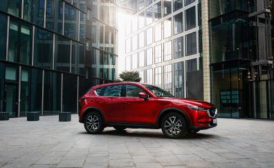 2017 Mazda CX-5 Crossover SUV, beautiful red car
