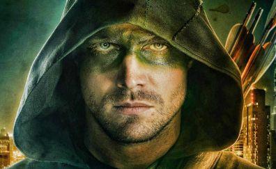 Stephen Amell as Green arrow in Arrow season 5