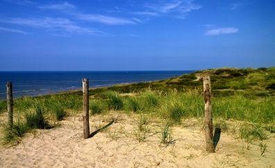 Holland beach, fencing