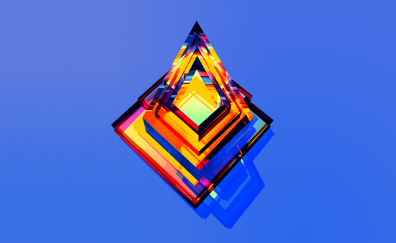 Facet, triangles, abstract