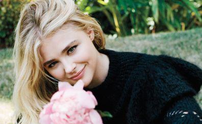 Chloë Grace Moretz, model, beautiful, smile