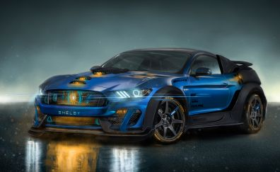 Ford Mustang Shelby GT350, sports car, 4k