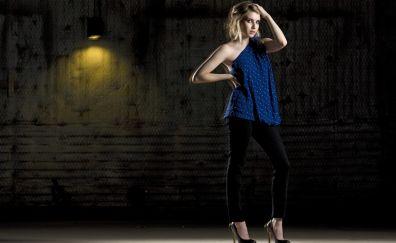 Emma roberts, blonde, 5k
