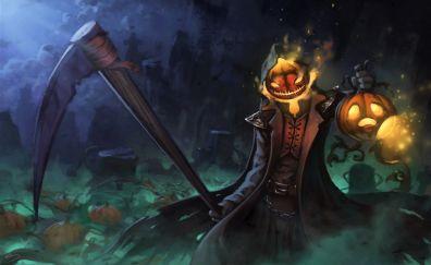 Halloween, fantasy, monster, night