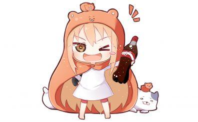 Umaru Doma, Himouto! Umaru-chan, anime girl, minimal