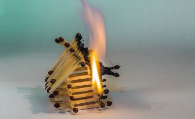 Matchstick, Matches house on fire
