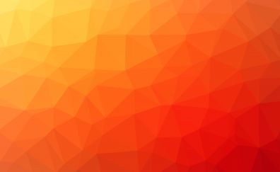 Geometric, abstract, gradient, triangles, 5k