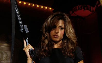 Eva Mendes in Once Upon a Time in Mexico, 2003 movie