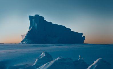 Iceberg, glacier, google pixel, stock