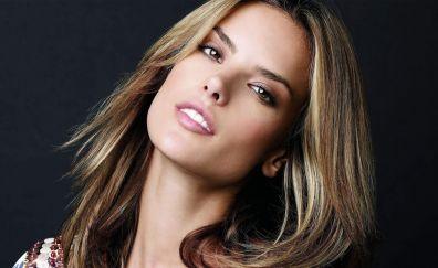Alessandra Ambrosio, Brazilian beauty, face