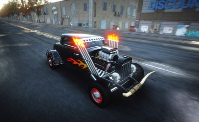 The Crew, Online game, hot rod, cars, 4k