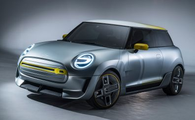 Mini Electric Concept, 2017 modern car, front