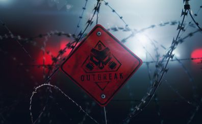 Rainbow Six: Siege Outbreak, video game, barb wire, dlc, 8k