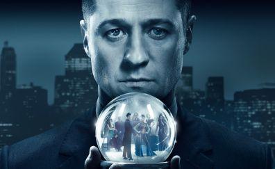 Ben McKenzie, celebrity, Gotham, season 4, 4k