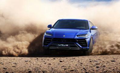 2018 Lamborghini Urus, off road, 4k