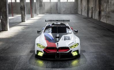 2018 car, BMW M8 GTE, car, 4k