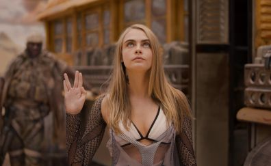 Cara Delevingne, Valerian and the city of a thousand planets, 4k, 5k