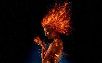 Sophie turner, X-Men: Dark Phoenix, poster, movie, 2018