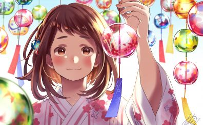 Cute anime, Ochako Uraraka, decorations
