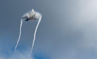 Airshow, Lockheed Martin F-22 Raptor, sky