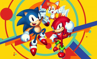 Sonic mania, 2017, video game