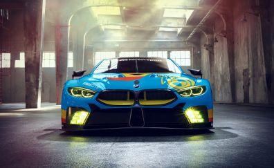 Bmw m8 gte, front, concept cars