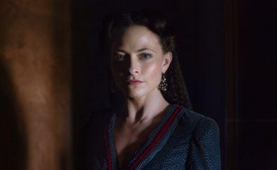 Da Vinci's Demons TV show, Lara Pulver, actress
