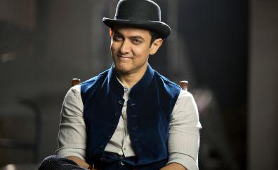 Aamir khan, Indian actor, smile
