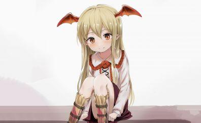 Vania, Granblue Fantasy, cute anime bat girl