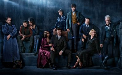 Fantastic Beasts: The Crimes of Grindelwald, movie, cast