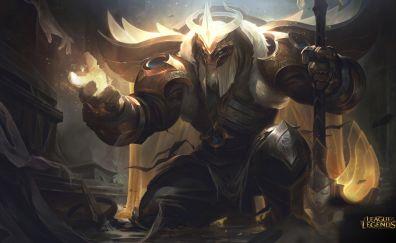 Yorick, League of Legends, champion, warrior
