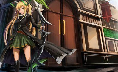 Archers, Millennium War Aigis, blonde girl