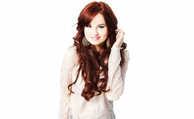 Debby Ryan, smile, red head, actress