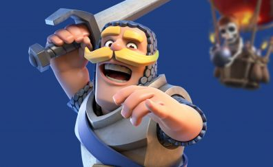 Clash royale, soldier, mobile game