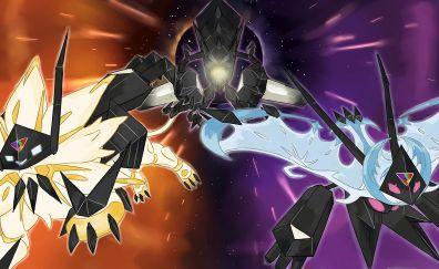 Pokémon Ultra Sun and Ultra Moon, video game, anime