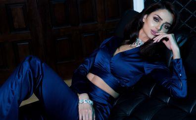 Mahlagha Jaberi, hot model, celebrity, 5k