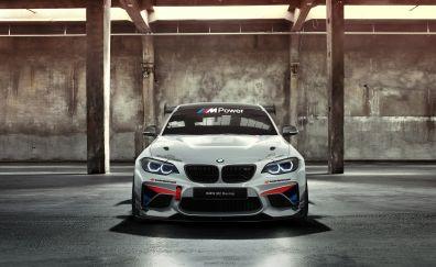 BMW M235i Racing Cup, AC Schnitzer, sports car, front, 4k