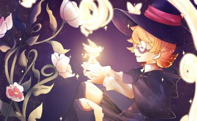 Lotte Yanson, Little Witch Academia, happy anime girl